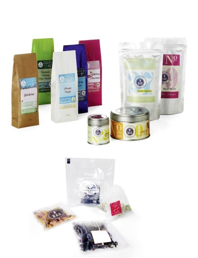 Tee-Großhandel mit Private Label Lösung